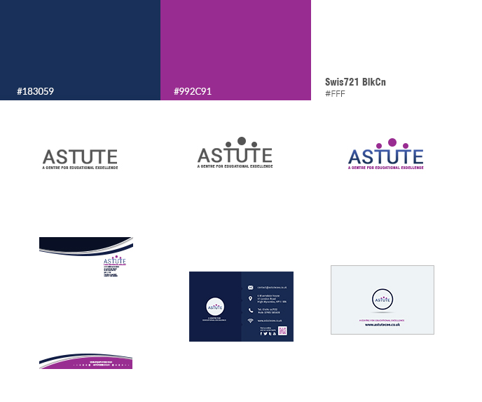 Astute Brand Project created by Bright Choice Marketing
